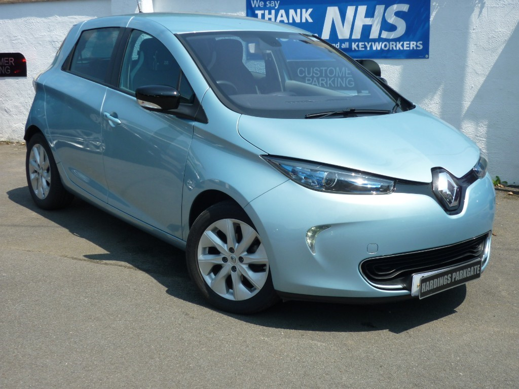 used Renault Zoe DYNAMIQUE INTENS EV used cars in wirral-cheshire