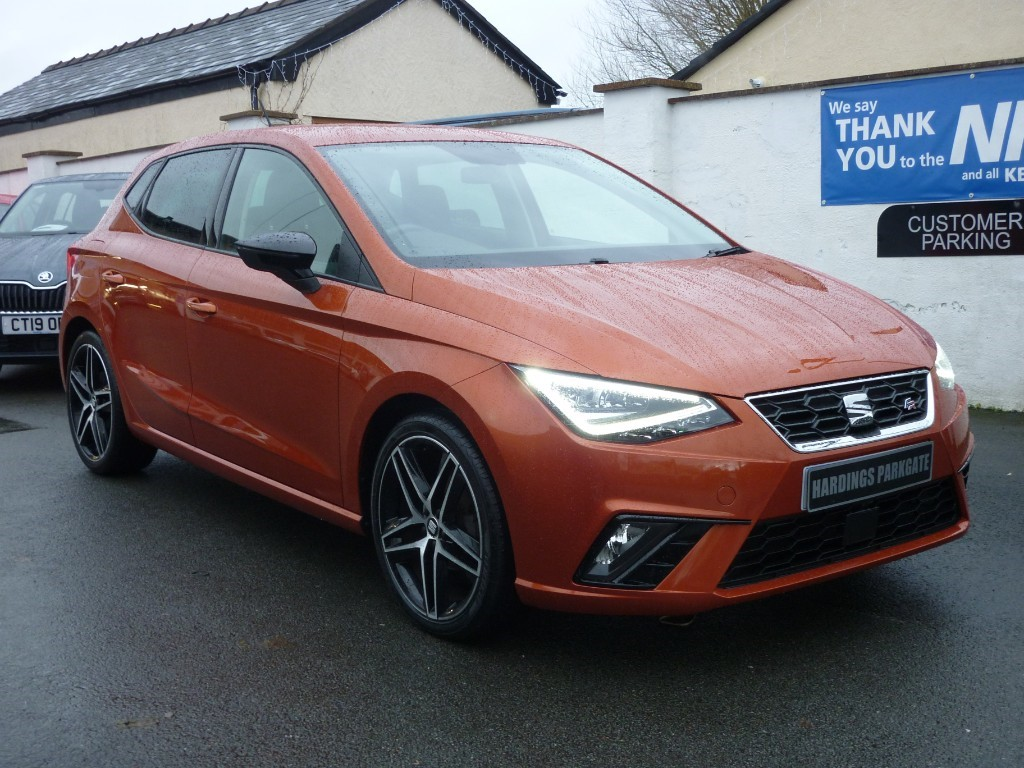 used SEAT Ibiza TSI FR SPORT [NAV] WITH 2 YEARS FREE SERVICING*used cars in wirral-cheshire
