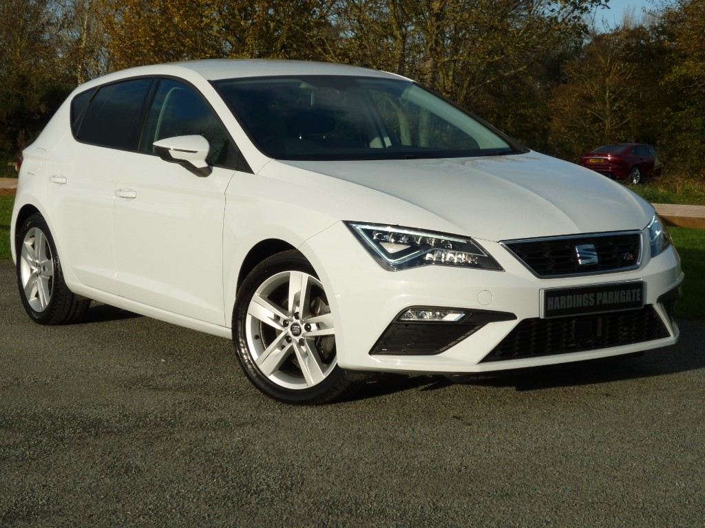 used SEAT Leon TSI FR TECHNOLOGY + SEAT WARRANTY used cars in wirral-cheshire