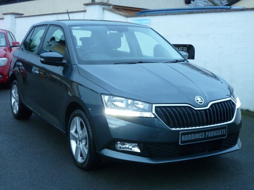 used Skoda Fabia SE L TSI DSG AUTO WITH 2 YEARS FREE SERVICING* used cars in wirral-cheshire