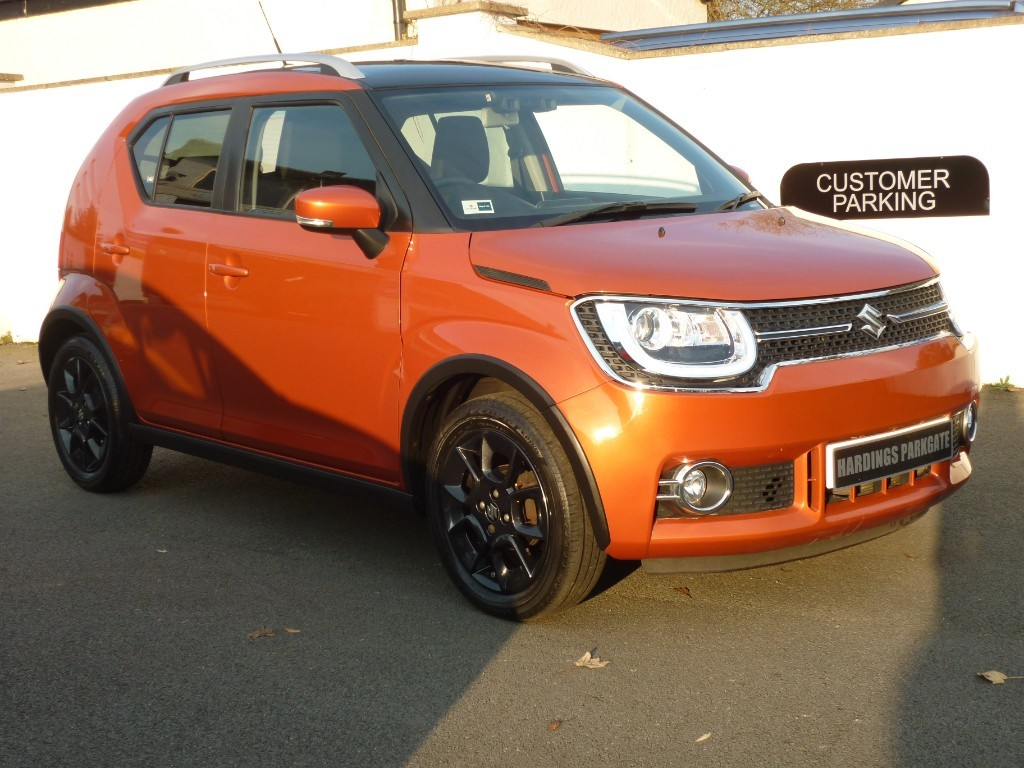 used Suzuki Ignis SZ5 DUALJET AUTO WITH 2 YEARS FREE SERVICING* used cars in wirral-cheshire