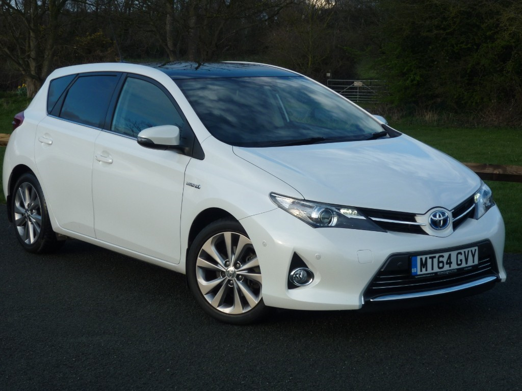 used Toyota Auris VVT-I EXCEL AUTO in wirral-cheshire