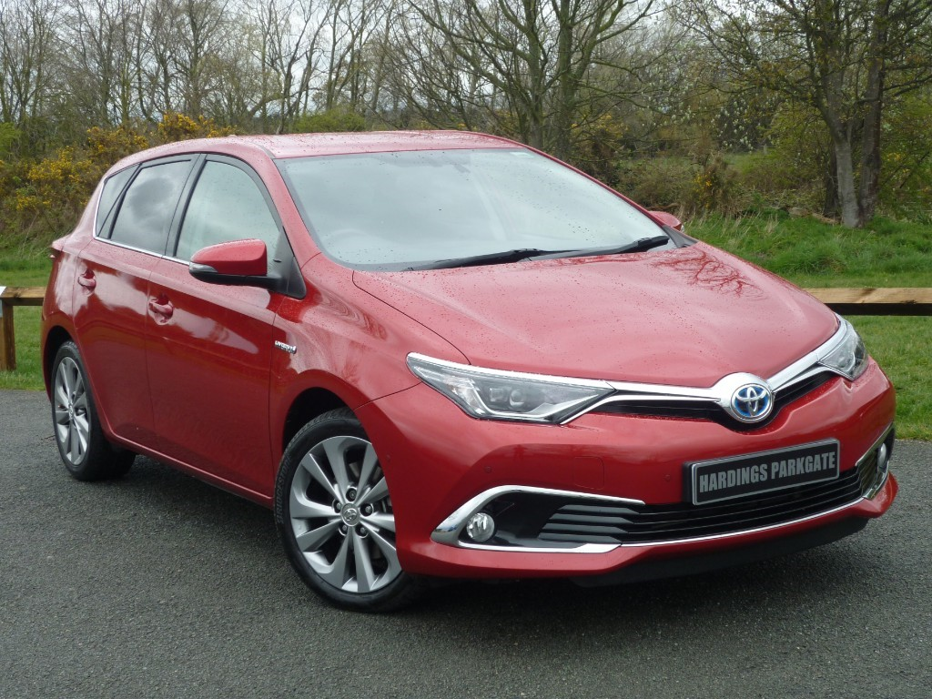 used Toyota Auris VVT-I EXCEL HYBRID in wirral-cheshire