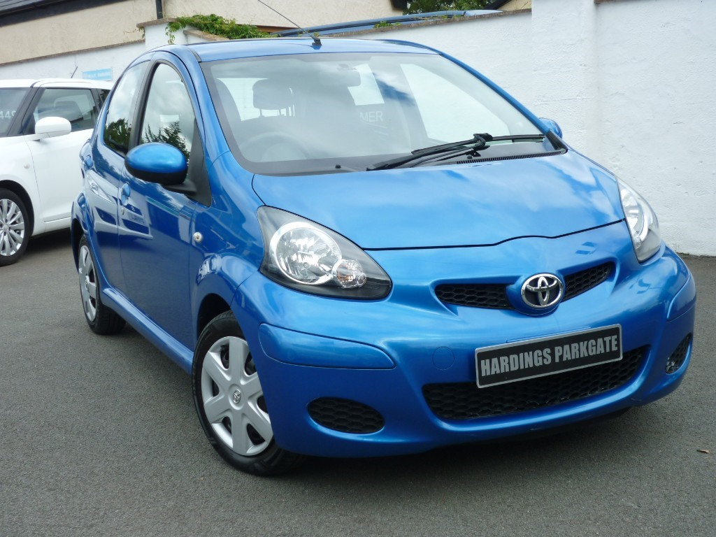 used Toyota Aygo VVT-I BLUE used cars in wirral-cheshire