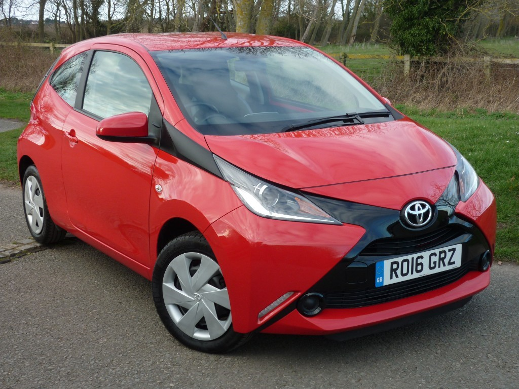 used Toyota Aygo VVT-I X-PLAY in wirral-cheshire