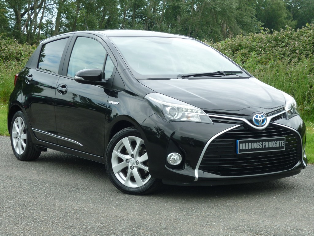 used Toyota Yaris VVT-I SPORT M-DRIVE S AUTO in wirral-cheshire