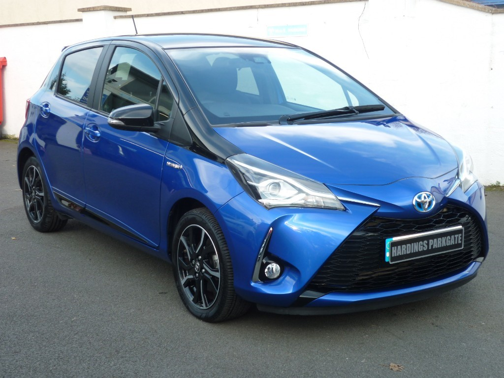 used Toyota Yaris VVT-I BI-TONE HYBRID WITH 2 YEARS FREE SERVICING* used cars in wirral-cheshire