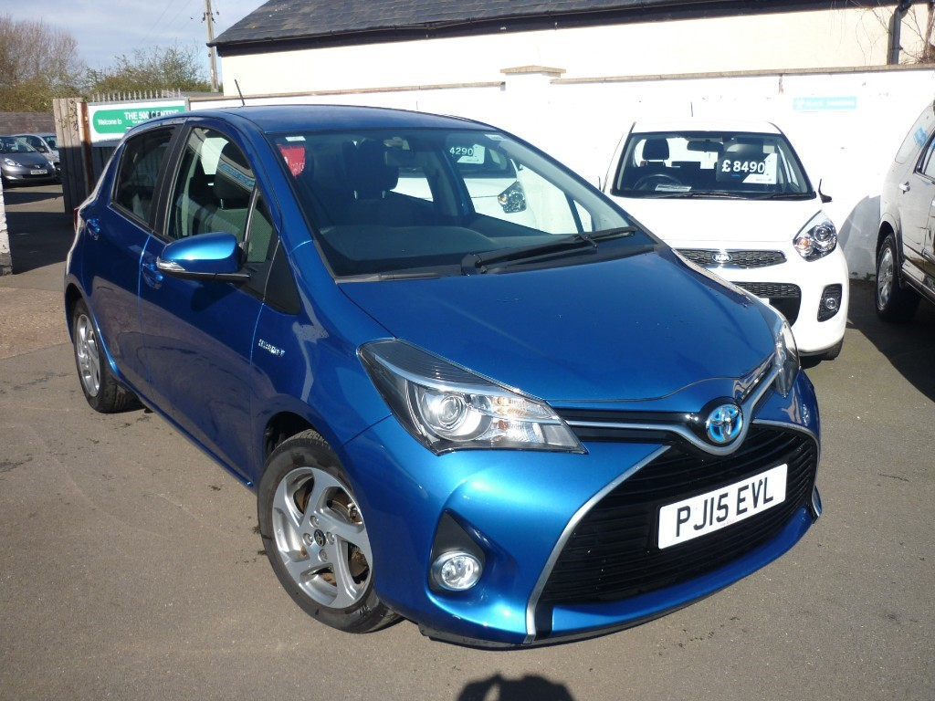 used Toyota Yaris VVT-I ICON in wirral-cheshire