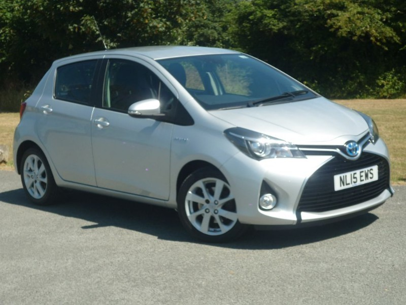 used Toyota Yaris HYBRID EXCEL AUTO in wirral-cheshire