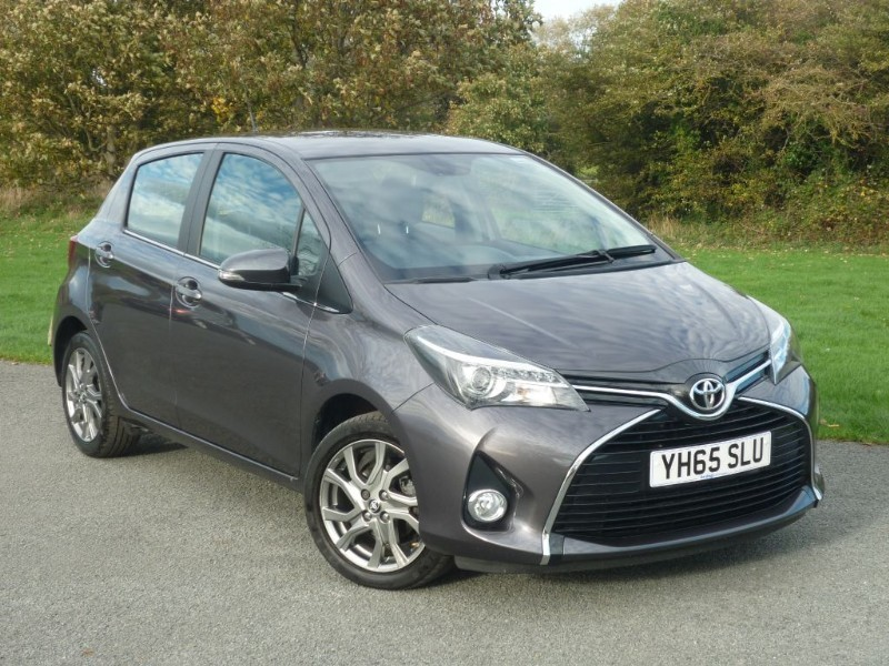 used Toyota Yaris VVT-I EXCEL in wirral-cheshire