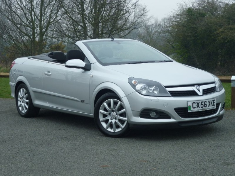used Vauxhall Astra TWIN TOP SPORT CONVERTIBLE in wirral-cheshire
