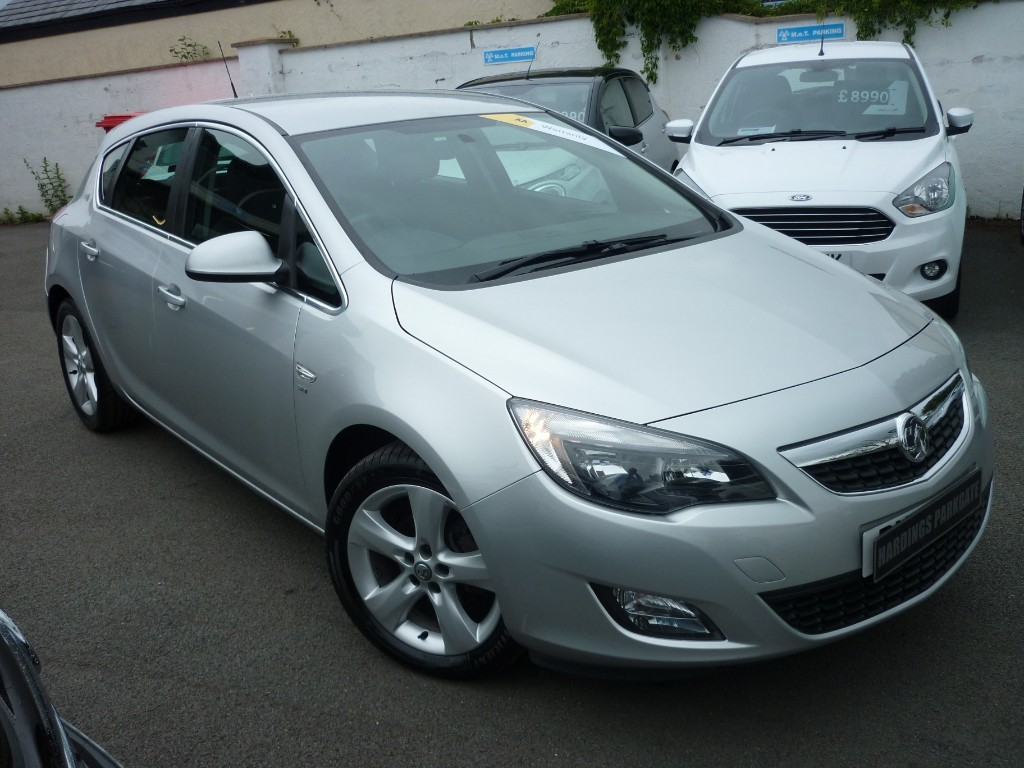 used Vauxhall Astra SRI AUTO in wirral-cheshire