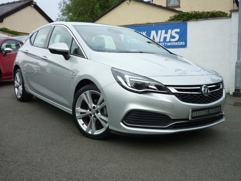 used Vauxhall Astra SRI VX-LINE NAV BALANCE OF VAUXHALL WARRANTY used cars in wirral-cheshire