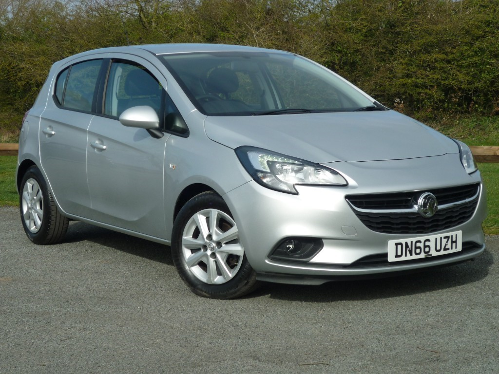 used Vauxhall Corsa DESIGN ECOFLEX in wirral-cheshire