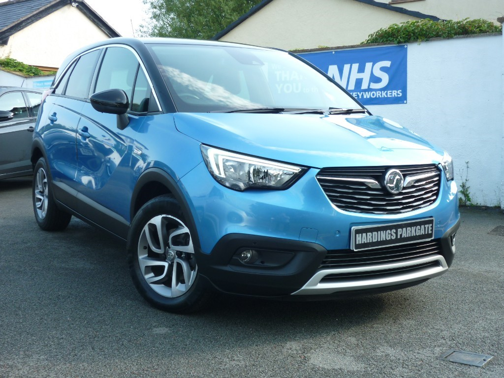 used Vauxhall Crossland X TECH LINE NAV S/S BALANCE OF VAUXHALL WARRANTY used cars in wirral-cheshire