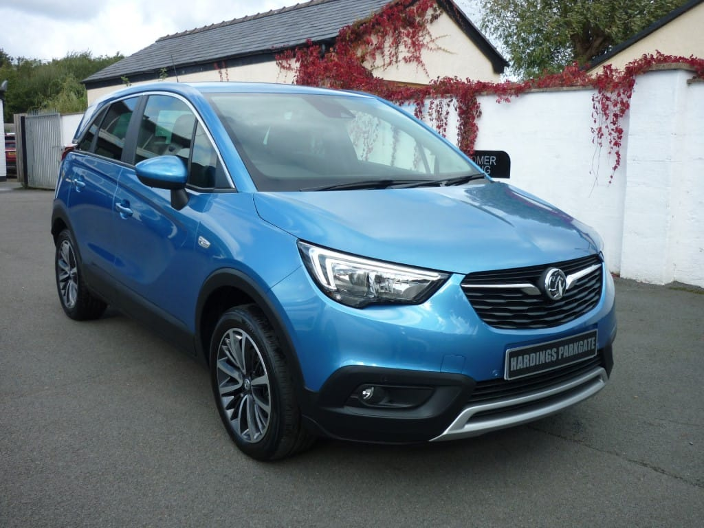 used Vauxhall Crossland X ELITE NAV ECOTEC S/S AUTO 2 YEARS FREE SERVICING* used cars in wirral-cheshire