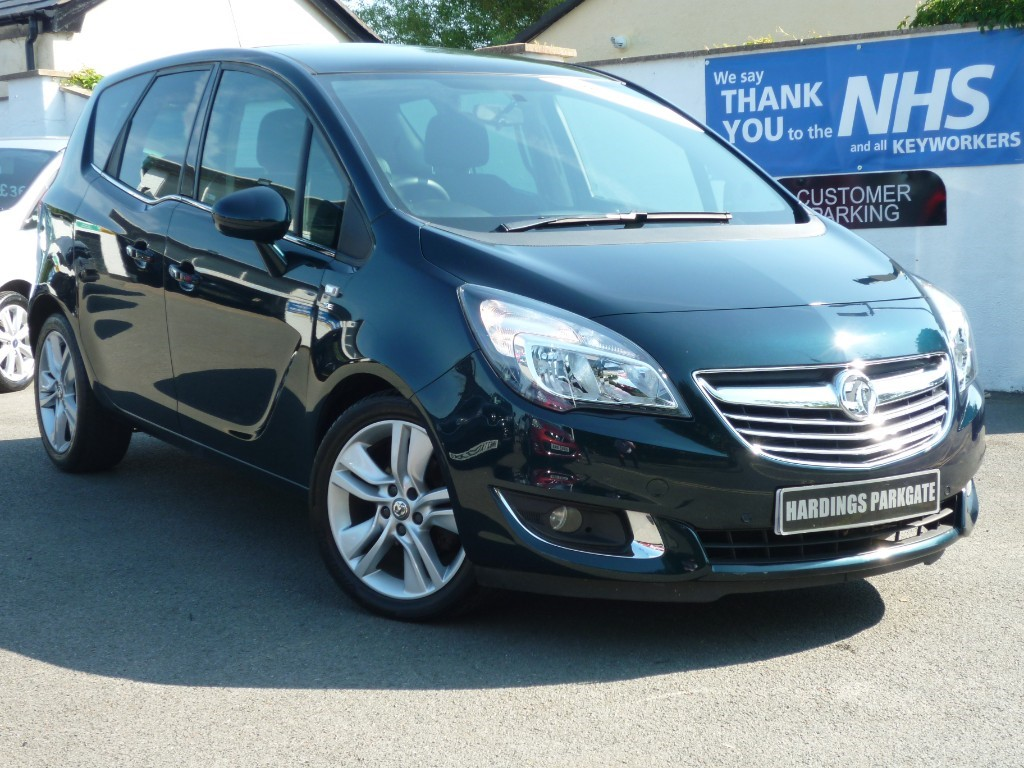 used Vauxhall Meriva SE AUTO + AA WARRANTY used cars in wirral-cheshire