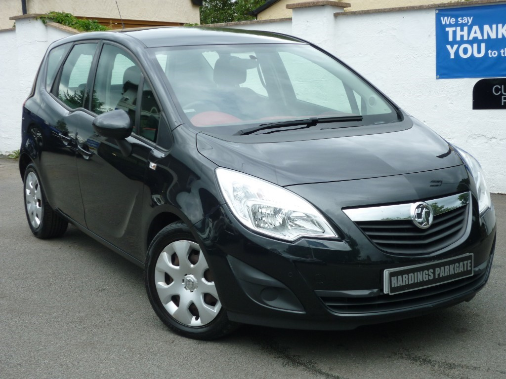 used Vauxhall Meriva EXCLUSIV AC CDTI AUTO + AA WARRANTY used cars in wirral-cheshire