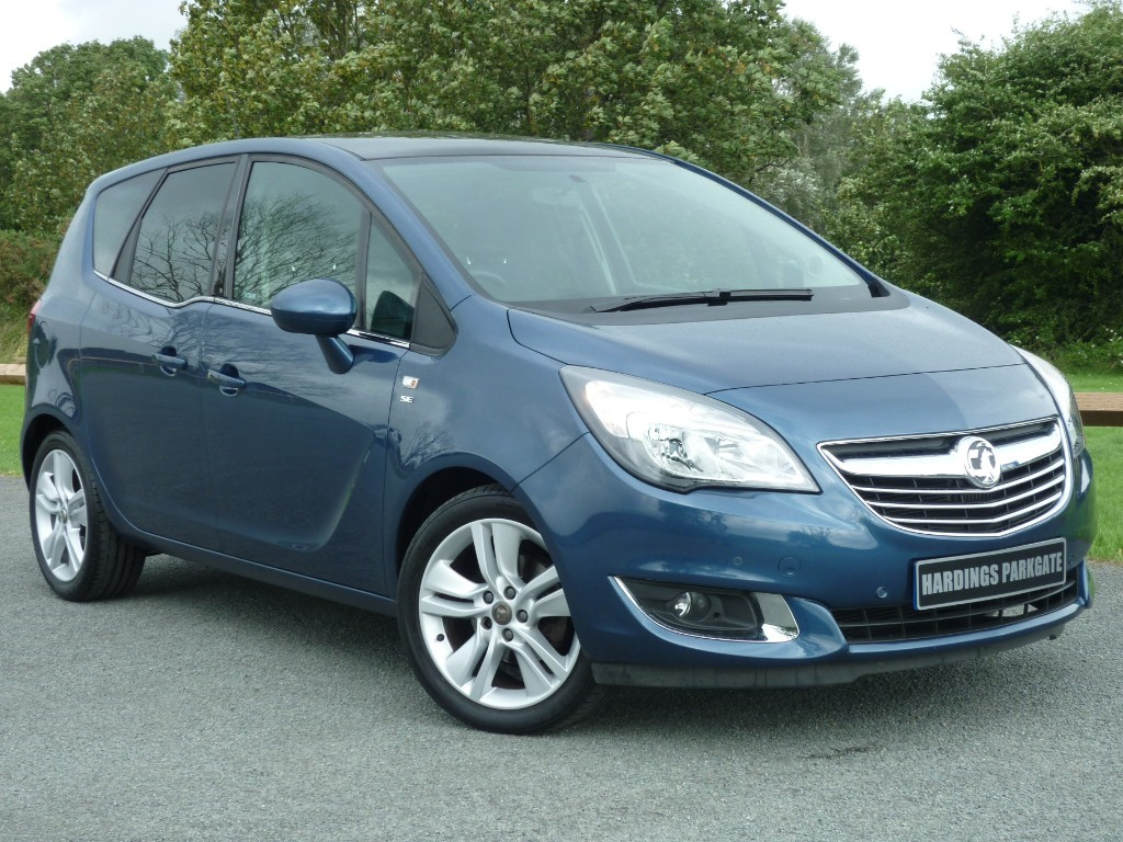 used Vauxhall Meriva SE AUTO in wirral-cheshire