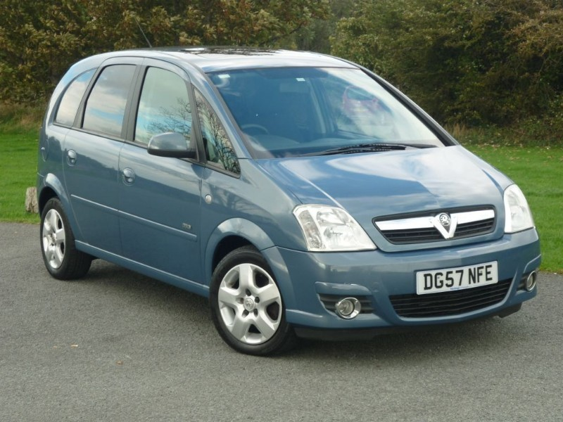 used Vauxhall Meriva DESIGN CDTI 16V in wirral-cheshire