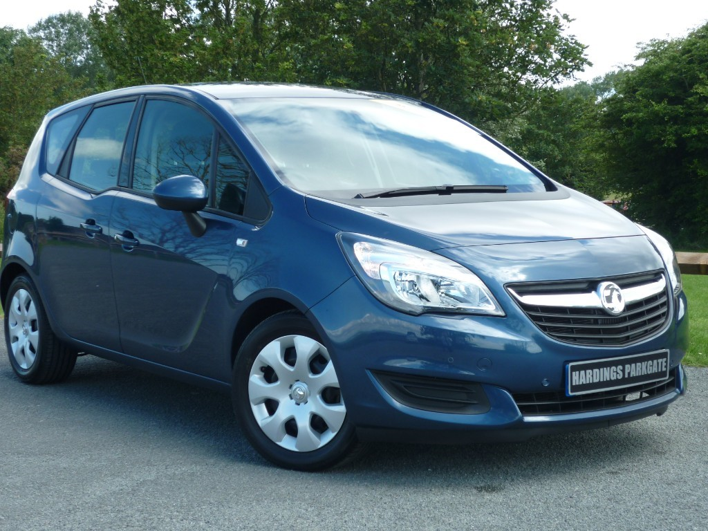 used Vauxhall Meriva CLUB in wirral-cheshire