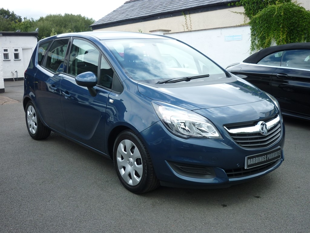 used Vauxhall Meriva CLUB AUTO in wirral-cheshire