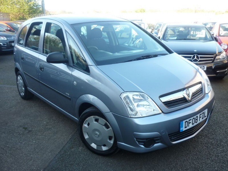 used Vauxhall Meriva LIFE 16V TWINPORT in wirral-cheshire