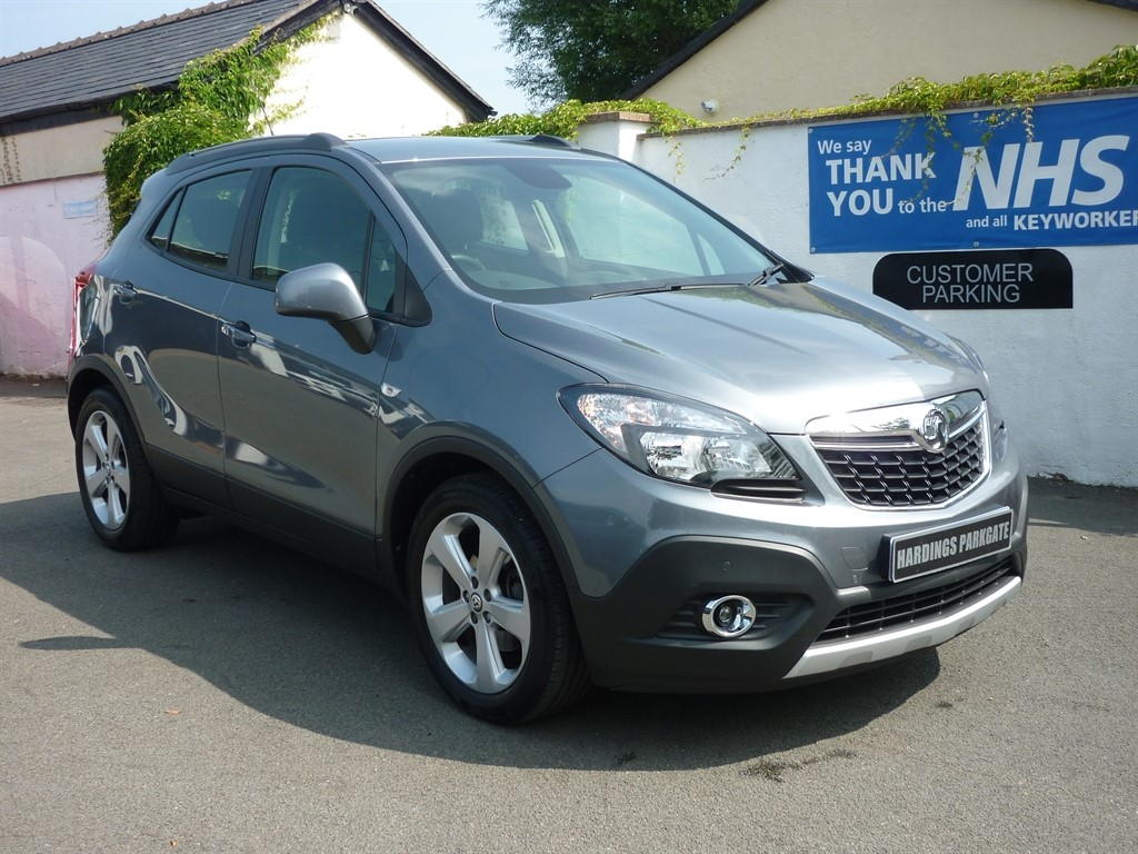 used Vauxhall Mokka EXCLUSIV S/S in wirral-cheshire