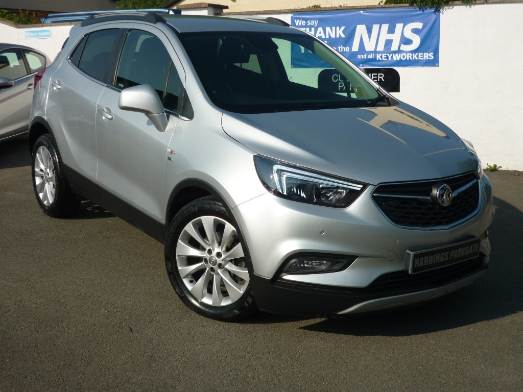used Vauxhall Mokka X ELITE AUTO + AA WARRANTY used cars in wirral-cheshire