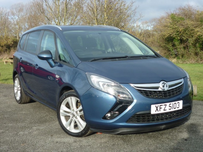 used Vauxhall Zafira Tourer SRI  in wirral-cheshire