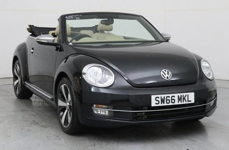 used VW Beetle DESIGN TSI BLUEMOTION TECHNOLOGY in wirral-cheshire