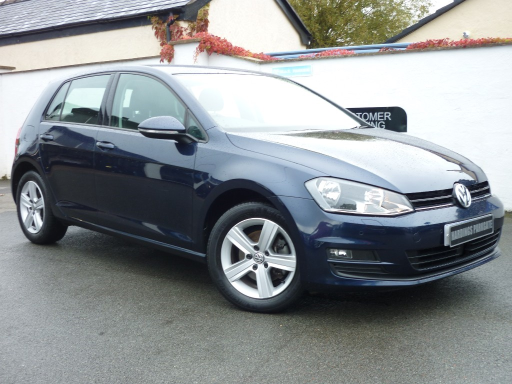 used VW Golf MATCH EDITION TSI BMT NAV used cars in wirral-cheshire