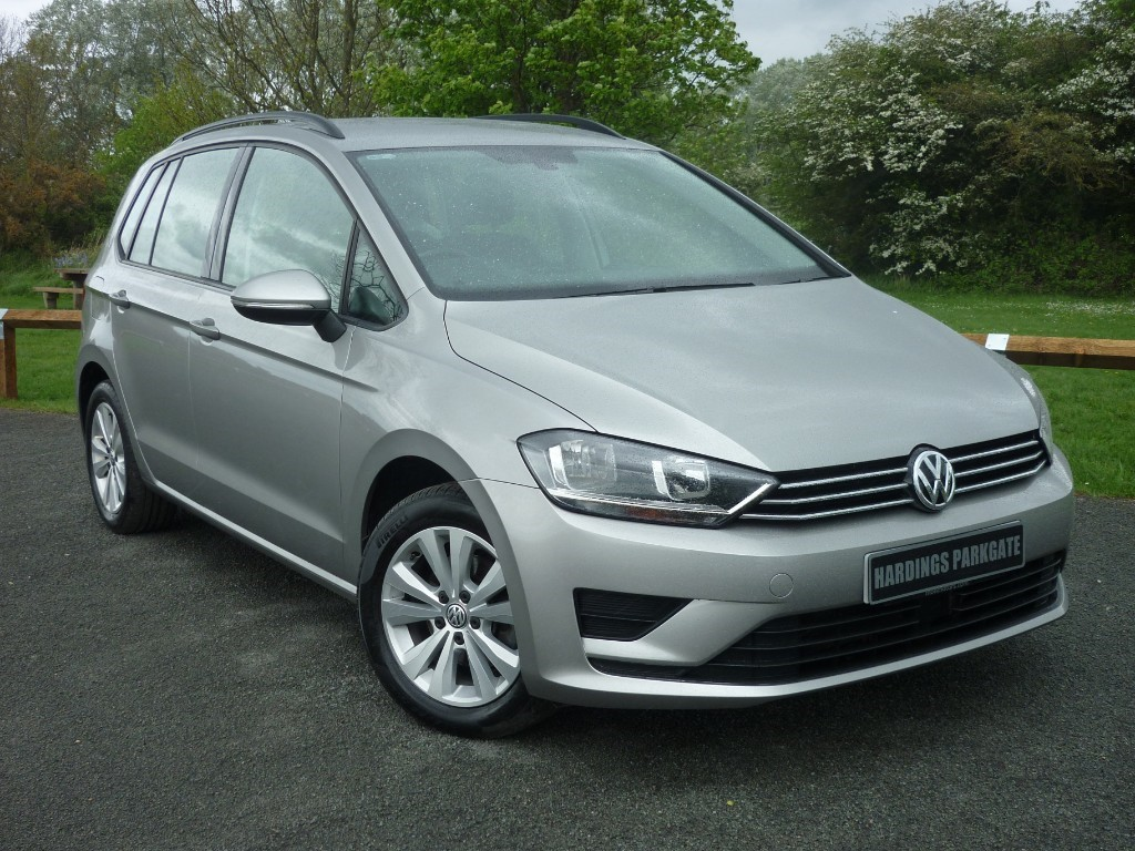 used VW Golf SV SE TDI BLUEMOTION TECH in wirral-cheshire