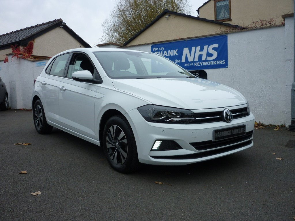 used VW Polo SE TSI DSG AUTO BALANCE OF VW WARRANTY used cars in wirral-cheshire