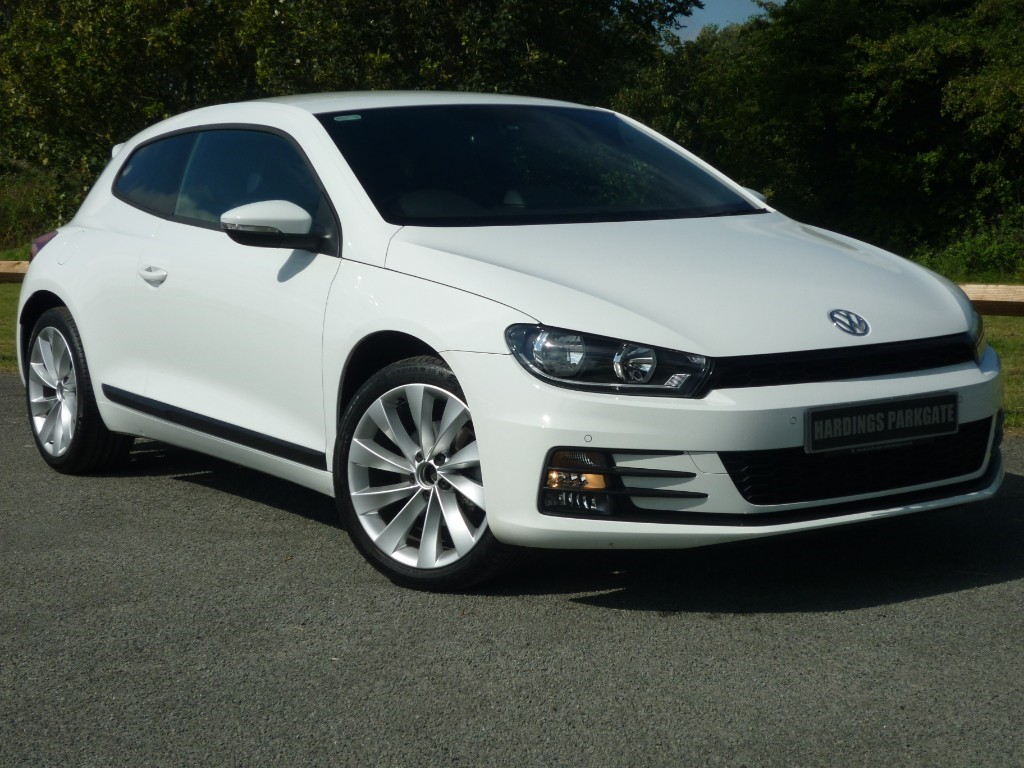 used VW Scirocco GT TSI BLUEMOTION TECHNOLOGY SAT NAV in wirral-cheshire