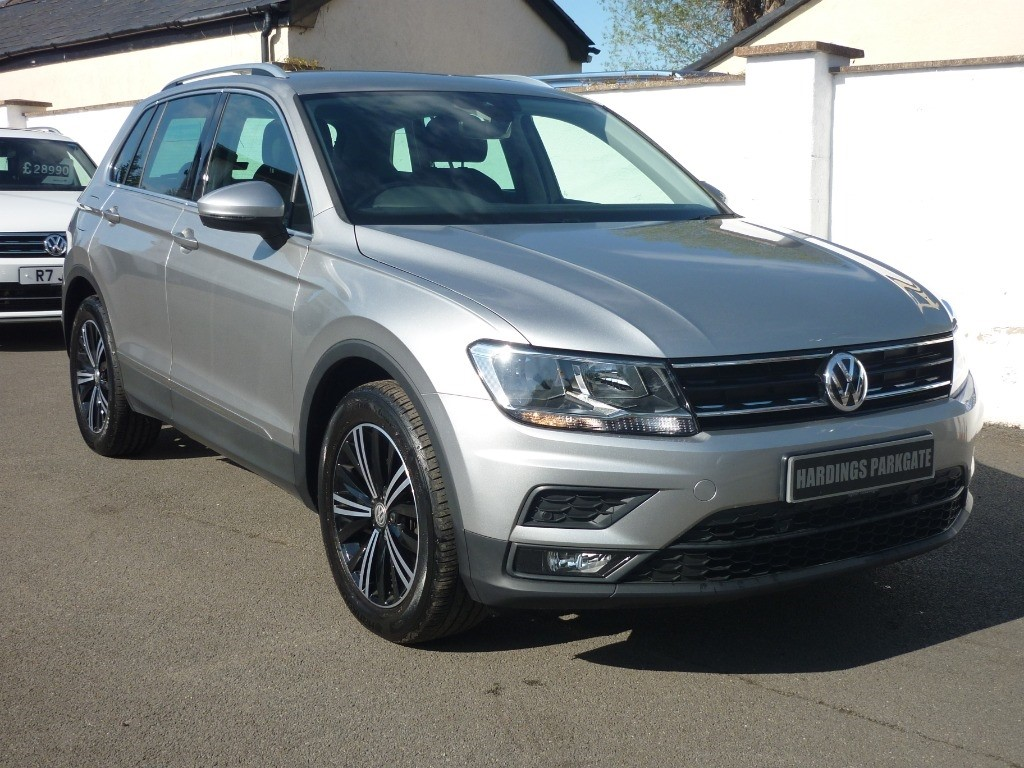 used VW Tiguan SE NAVIGATION TDI DSG AUTO used cars in wirral-cheshire