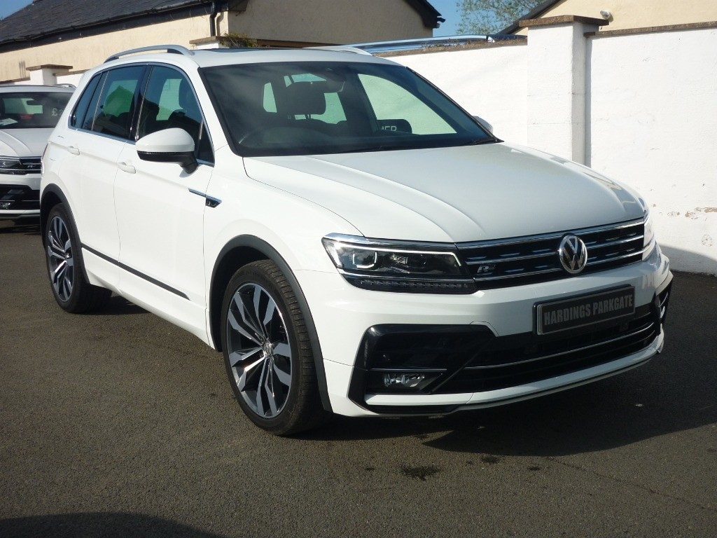 used VW Tiguan R-LINE TDI used cars in wirral-cheshire
