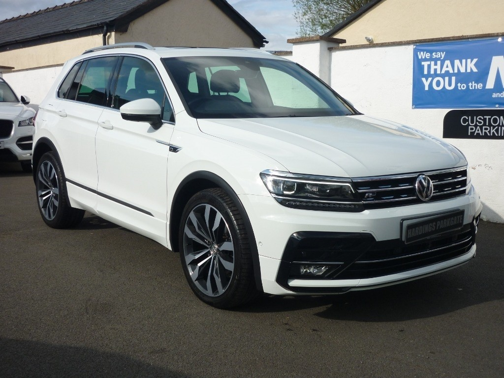 used VW Tiguan R-LINE TDI  TECH DSG AUTO used cars in wirral-cheshire