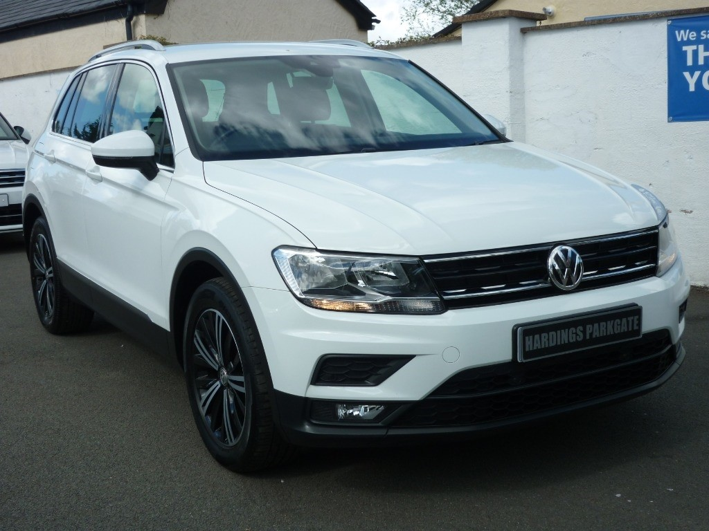 used VW Tiguan SE NAV TDI BMT 2 YEARS FREE SERVICING* used cars in wirral-cheshire