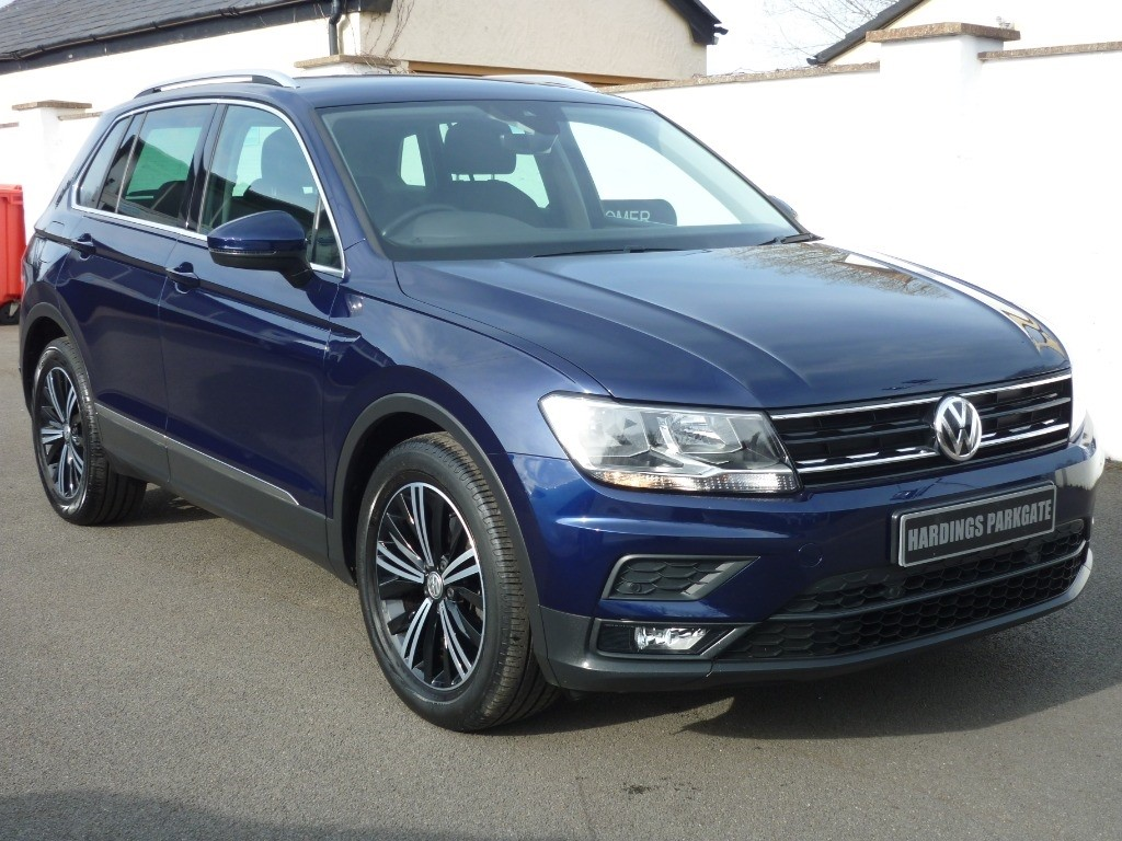used VW Tiguan SE NAVIGATION TSI BLUEMOTION TECHNOLOGY used cars in wirral-cheshire