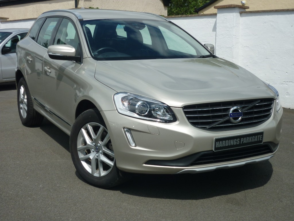 used Volvo XC60 D4 SE LUX NAV + LEATHER + WINTER PACK used cars in wirral-cheshire