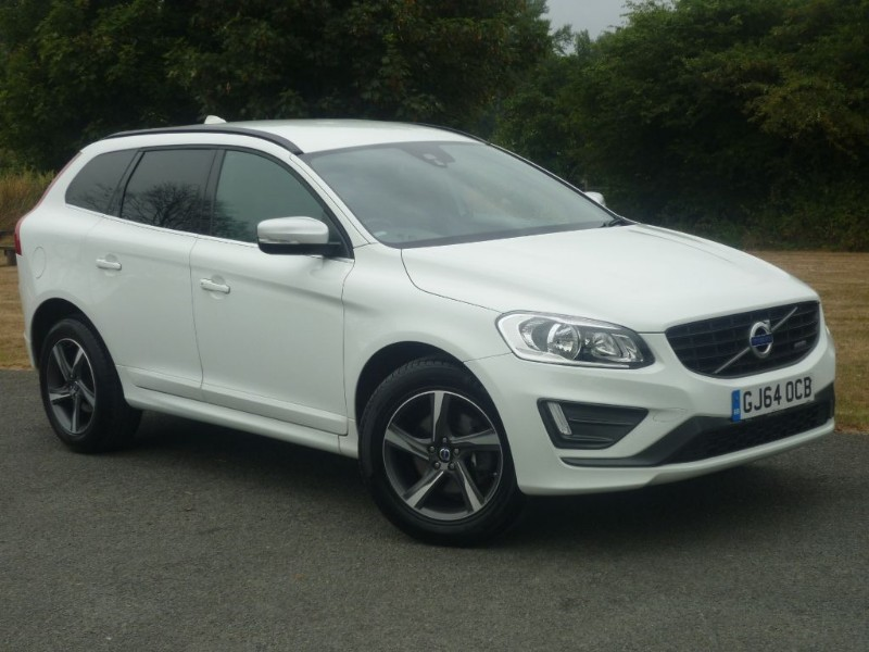 used Volvo XC60 D4 R-DESIGN in wirral-cheshire