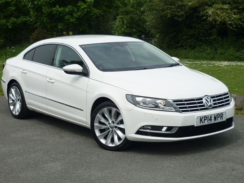 used VW CC GT TDI TECH WITH 1 YEAR FREE AA MEMBERSHIP** in wirral-cheshire