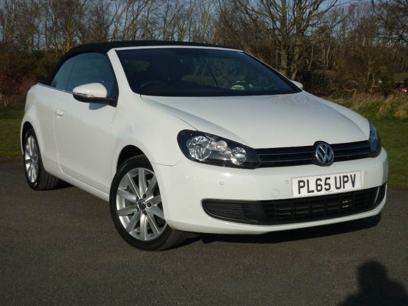 used VW Golf SE TDI BLUEMOTION TECH DSG AUTO CONVERTIBLE in wirral-cheshire