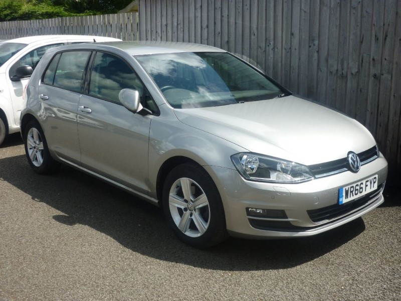 used VW Golf MATCH EDITION TDI BMT DSG in wirral-cheshire