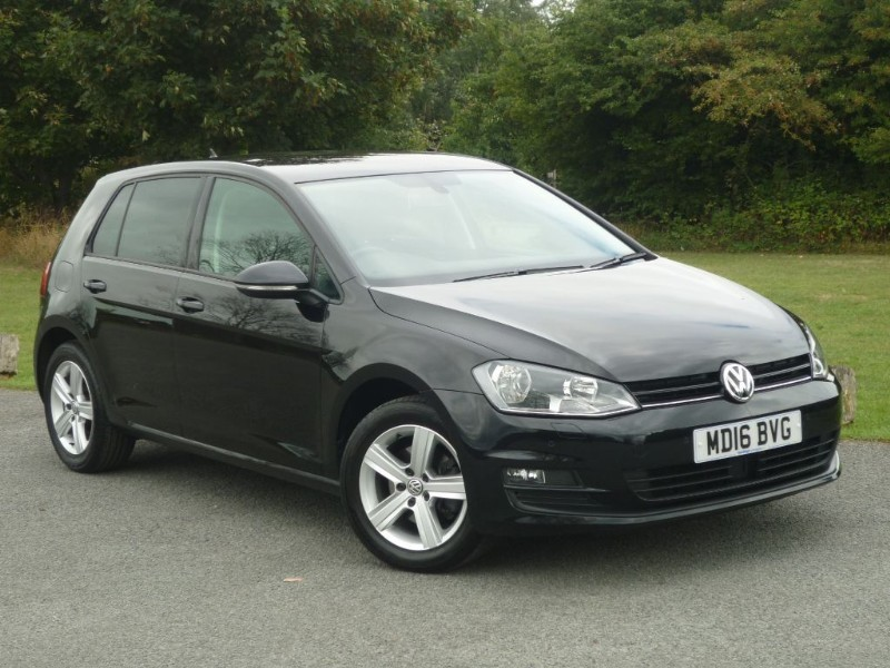 used VW Golf MATCH EDITION TSI DSG BMT in wirral-cheshire