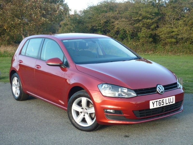 used VW Golf MATCH TSI BLUEMOTION TECHNOLOGY in wirral-cheshire