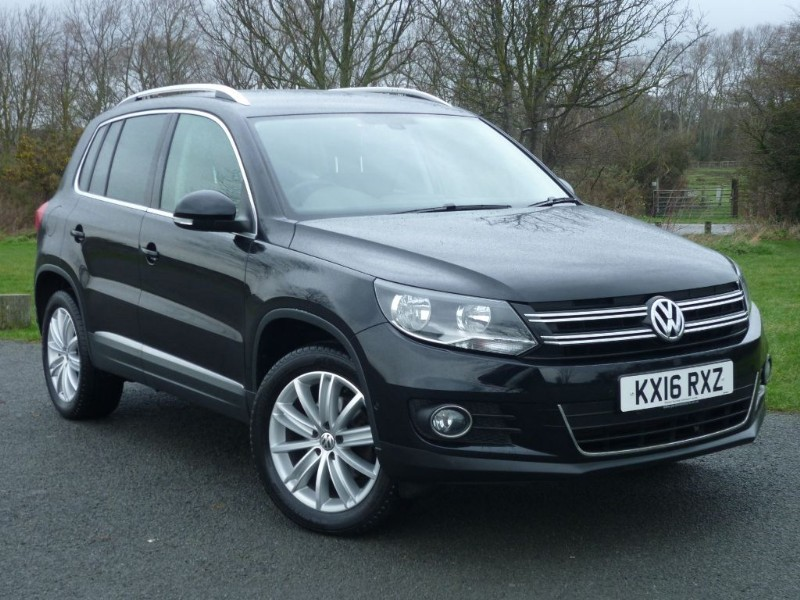 used VW Tiguan MATCH EDITION TDI BMT 4MOTION DSG AUTO NAV in wirral-cheshire
