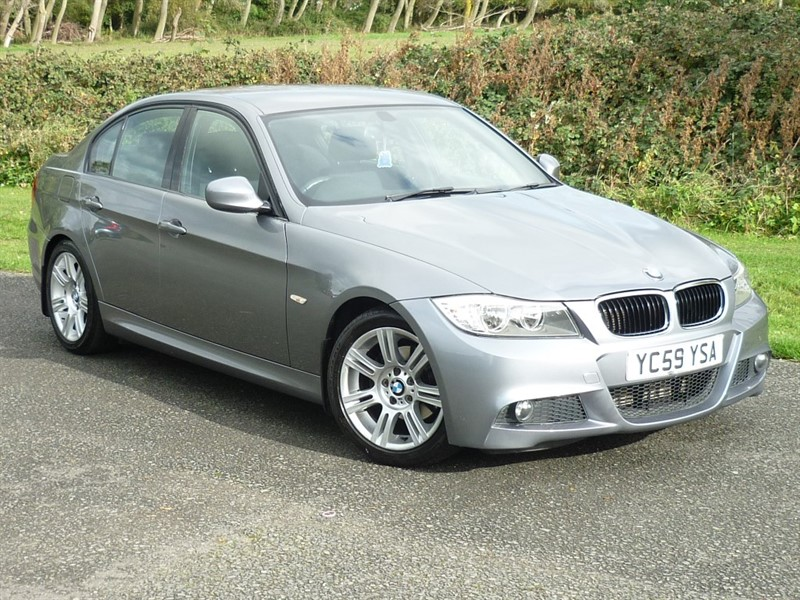 used BMW 318d 318D M SPORT WITH 2 YEAR FREE SERVICING* in wirral-cheshire