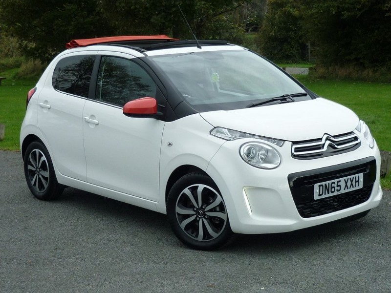 used Citroen C1 PURETECH AIRSCAPE FLAIR CONVERTIBLE in wirral-cheshire